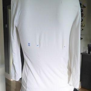 Kit and Ace Ladies white 3/4 sleeve tee